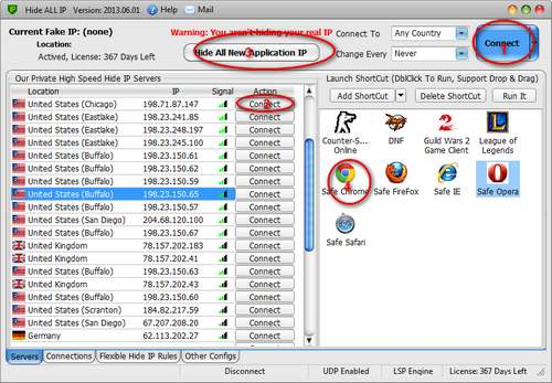 best hide IP software tutorial 1
